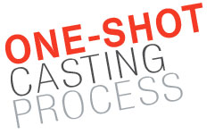 One-Shot casting logo
